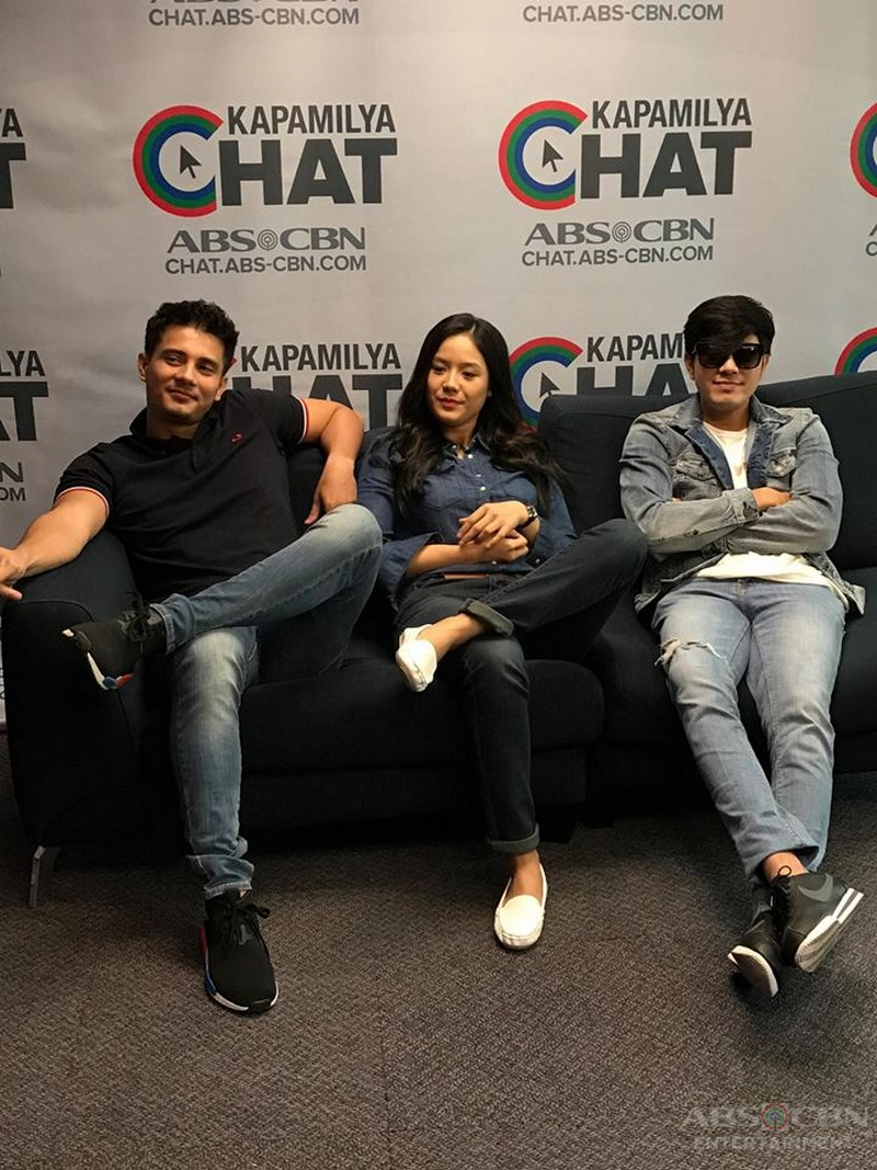 IN PHOTOS: Kapamilya Chat With The Promise Of Forever stars Ejay, Paulo And Ritz